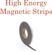 High Energy Magnetic Strips