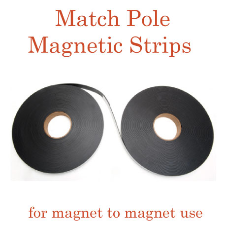 Match Pole Magnetic Strips