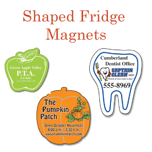 Shaped Fridge Magnets