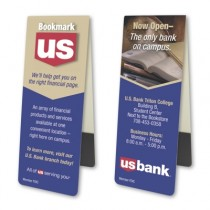 "1.5"" x 4"" Custom Magnetic Bookmarks"
