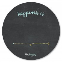 Custom Chalkboard Magnets - 11' Circle