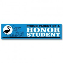 "Personalized Bumper Sticker Magnet 3"" x 12"""