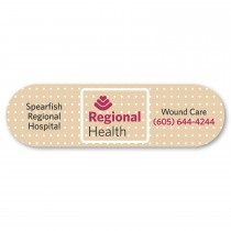"Band Aid Shaped Magnet - 1.5"" x 5.25"""