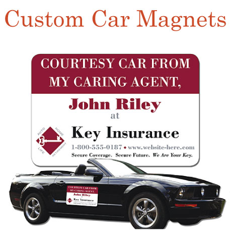 Printed Car Magnets Magnetic Bumper Stickers On Emagnetscom - Custom car magnets and stickers