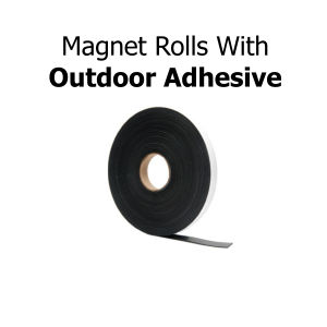 Outdoor Adhesive Magnetic Strips