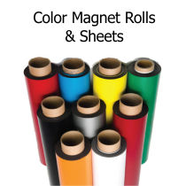 Magnetic Rolls with Colored Vinyl