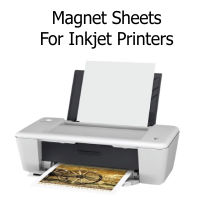 Inkjet Printable Magnetic Sheets