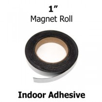"Indoor Adhesive Magnetic Strips- 1"" wide"