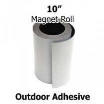 "10 inch Outdoor Adhesive Magnet Strips- 10"" x 50' x 30mil"