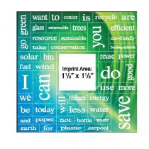"Message Magnet w/ 49 Words - 5.75"" Square"