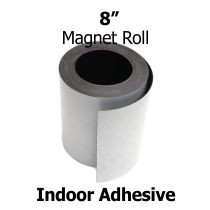 8-Inch-Indoor Adhesive Magnet Strips