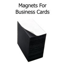 Adhesive Business Card Magnet Sheets