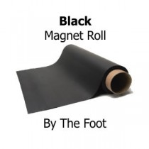 Black Vinyl Magnet Sheeting - By The Foot