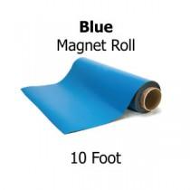 "Blue Vinyl Magnet Sheeting - 10"" Rolls"
