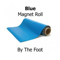 Blue Vinyl Magnet Sheeting - By The Foot