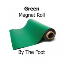 Green Vinyl Magnet Sheeting - By The Foot