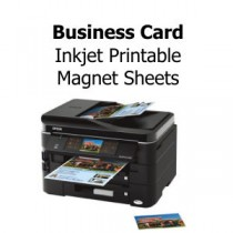 Inkjet Printable Magnets with Business Card Die-Cut