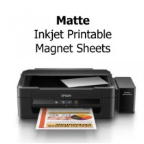 8.5x11 Inkjet Printable Magnets - Matte