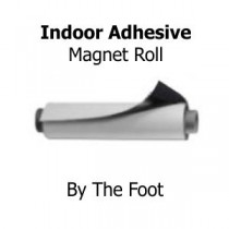 Magnet Sheet - Indoor Adhesive - By The Foot