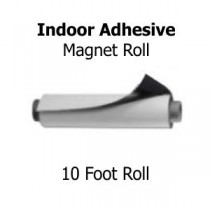 Indoor Adhesive Magnetic Rolls - 10' Rolls