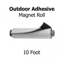 10' Magnet Roll With Outdoor Adhesive
