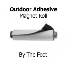 Magnet Sheets With Outdoor Adhesive - By The Foot