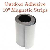 "Outdoor Adhesive Magnetic Strips- 10"" x 50'"