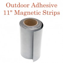 "Outdoor Adhesive Magnetic Strips- 11"" x 50'"