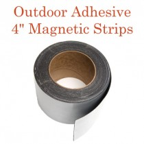 "Outdoor Adhesive Magnetic Strips- 4"" x 50'"