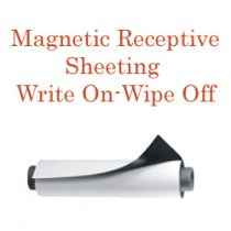 Magnetic Receptive Material - Write On-Wipe Off Face