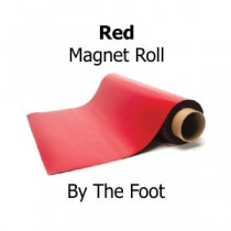 Red Magnet Roll - By The Foot