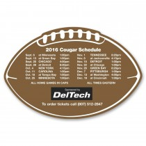 Personalized Football Shaped Fridge Magnet