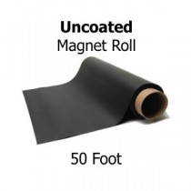 Uncoated Magnetic Sheeting- 50' Rolls