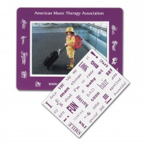 "Message Magnet w/ Picture Frame & 40 Words 6.75"" x 5.25"""