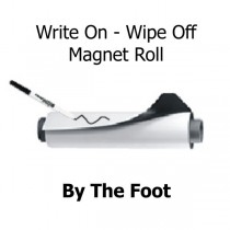 Write On - Wipe Off Magnetic Sheeting - By The Foot