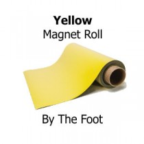Yellow Vinyl Magnet Sheeting - By The Foot